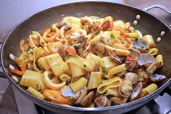 Pasta Calamarata Napoletana