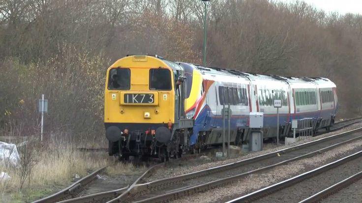 **RARE** DCR Hires 20142 On Class 222 Move Crofton Bombardier to Derby E...