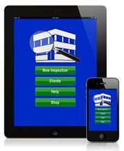 InspectaClean Mobile App for cleaning inspections
