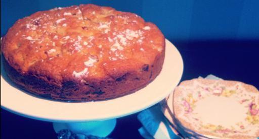 Tui Garden | Cass's Rhubarb and White Chocolate Cake