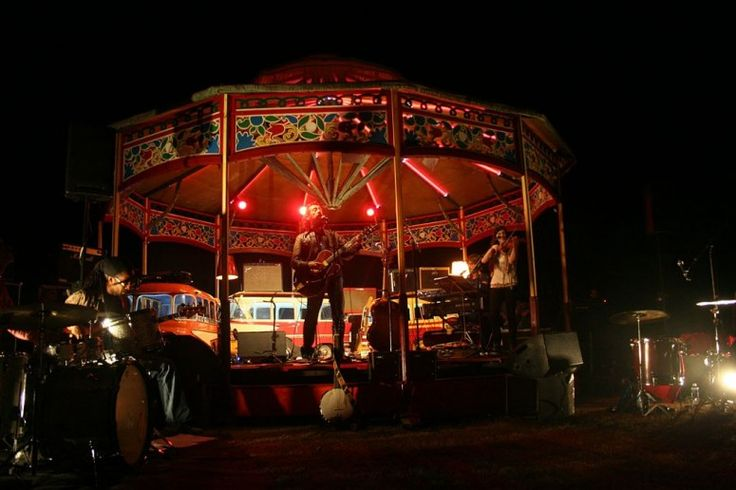 Also being repurposed is a 1930 children's carousel, which will serve as the festival's entertainment kiosk, where you can catch period music and sideshow performances.