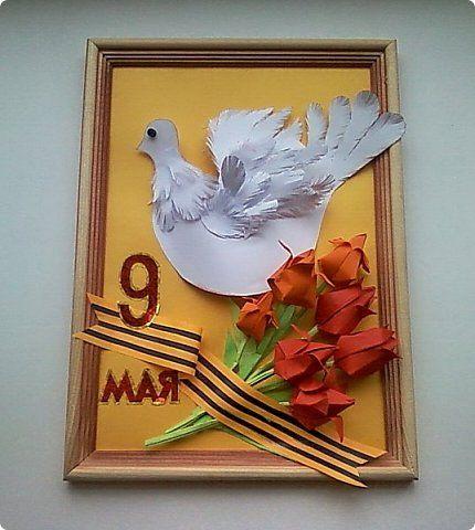 """Работа Насти Н. на конкурс """"Цветы Победы"""" фото 1"""