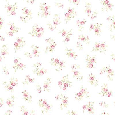 shabby chic pink rose print fabrics - Google Search