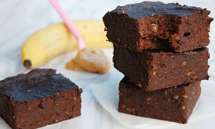 Sunn brownies med kun 3 ingredienser   EXTRA -