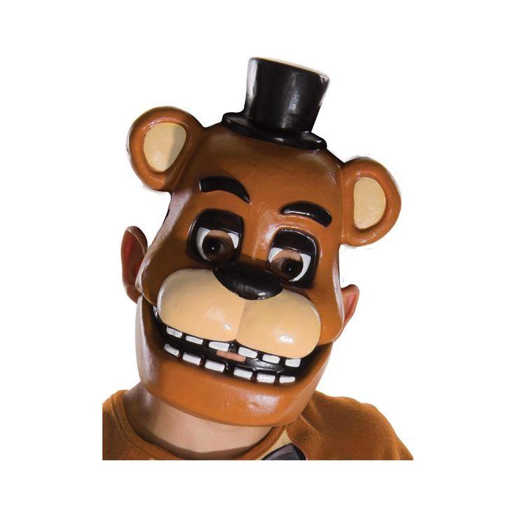 Child Five Nights at Freddy's Freddy Mask, Boy's, Multi-Colored