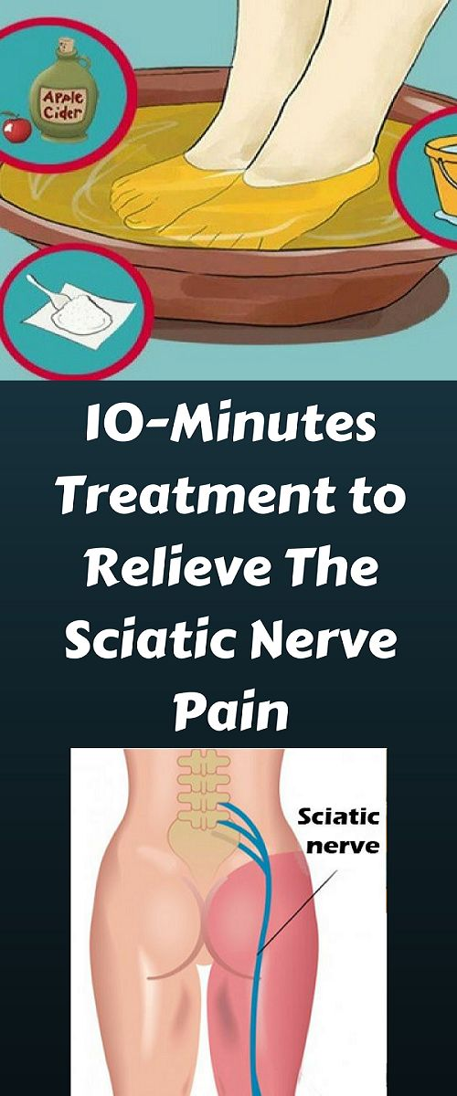 The sciatic nerve is the longest nerve in the body, which is located at the back of the legs. It links the buttocks with the feet. When this nerve is inflamed, it causes awful pain that spreads down t
