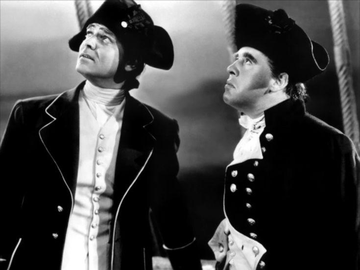 People: Clark Gable, Charles Laughton Characters: Captain William Bligh, 1st Lt. Fletcher Christian - La tragedia de la Bounty (1935) - Photo Gallery - IMDb