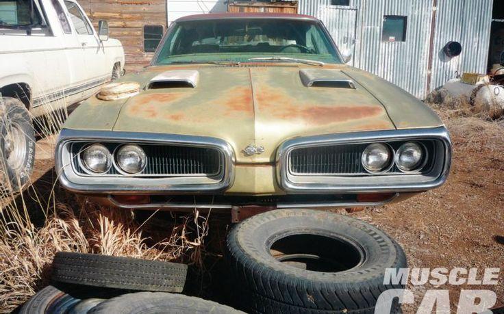 Rare Muscle Car Barn Finds