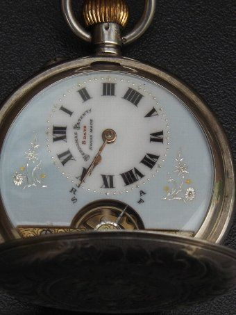 Please where vintage waltram silver mens packet watch know one