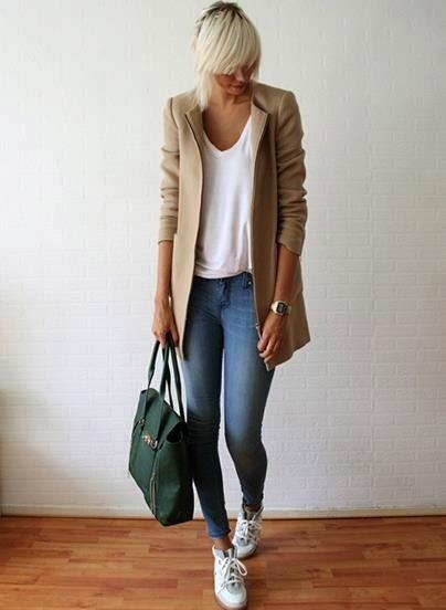 jacket + bag.