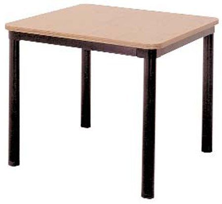 Ironwood Square Library Table by Ironwood. $344.99. Affordable tables Make attractive and functional additions to classrooms, libraries, and work areas Tabletops are 1-inch thick furniture board Thermalfused melamine laminate surfaces 3mm PVC edging 16-Gauge powder coated steel aprons 14-Gauge, powder coated, tubular steel legs with adjustable glides Assembly required Many different size configurations to choose from Black legs and frame Choice of 4 finishes Va...