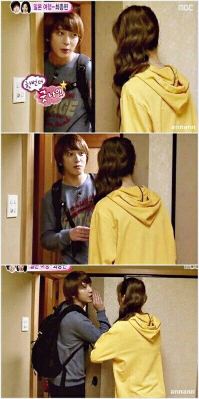 Yong says his goodbye before leaving their home :D Watch Goguma Couple Again @ http://wgmhammer.blogspot.com/2014/07/wgm-goguma-couple-eng-sub.html