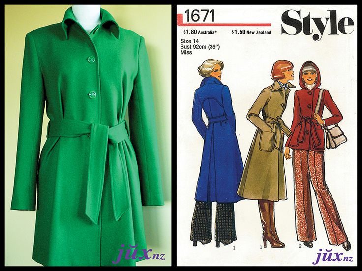 The Kelly Coat – vintage Style 1671