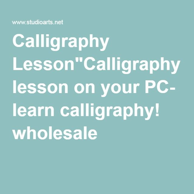 M S De 25 Ideas Incre Bles Sobre Calligraphy Lessons En