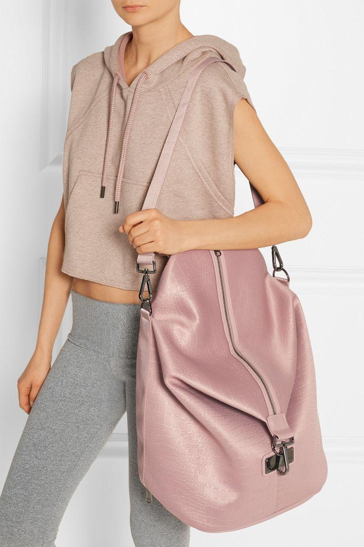 Adidas by Stella McCartney | Croc-effect neoprene backpack | NET-A-PORTER.COM