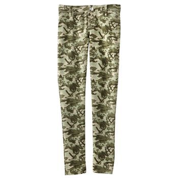 SO Camouflage Jeggings- Girls 7-16