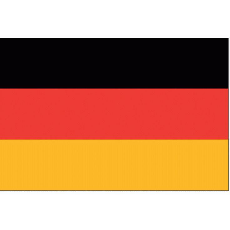 Tafelvlag Duitsland 10x15cm | Duitse Tafelvlag