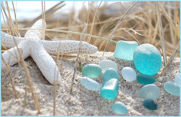 sea glass: Sands, Sea Stars, Shells, Colors, The Ocean, Beaches Glasses, Seaglass, Sea Glasses, The Sea