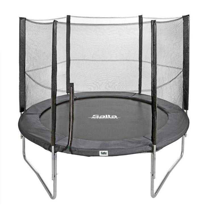 Alles compleet, daar worden we blij van. Daarom is de Salta Combo trampoline zo geliefd. Geleverd met veiligheidsnet en tiptop afgewerkt met een gegalvaniseerd frame dat beschermt tegen roest en speciale Goldspring veren om soepel te springen.