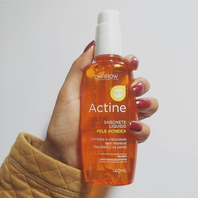 Você tem a pele oleosa? Então você -precisa- conhecer o sabonete líquido para pele oleosa da darrow https://andreapeixinho.wordpress.com/2016/09/12/darrow-actine-sabonete-liquido/