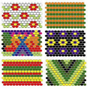 Peyote stitch sleeve tutorial and pattern ideas