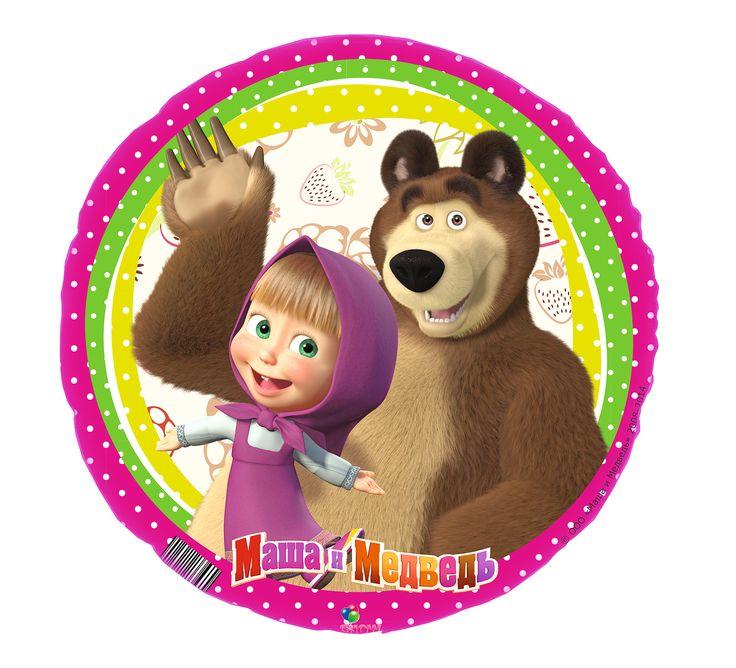 Маша и медведь картинки для торта