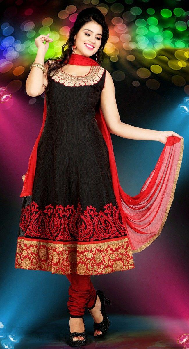 Ravishing Black #Salwar_Kameez