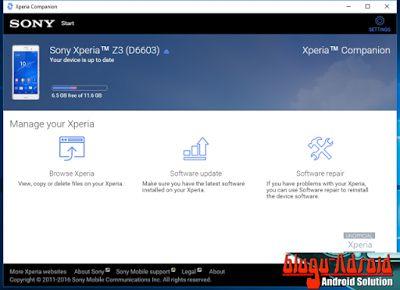 Download Xperia Companion Untuk Windows Dan Mac