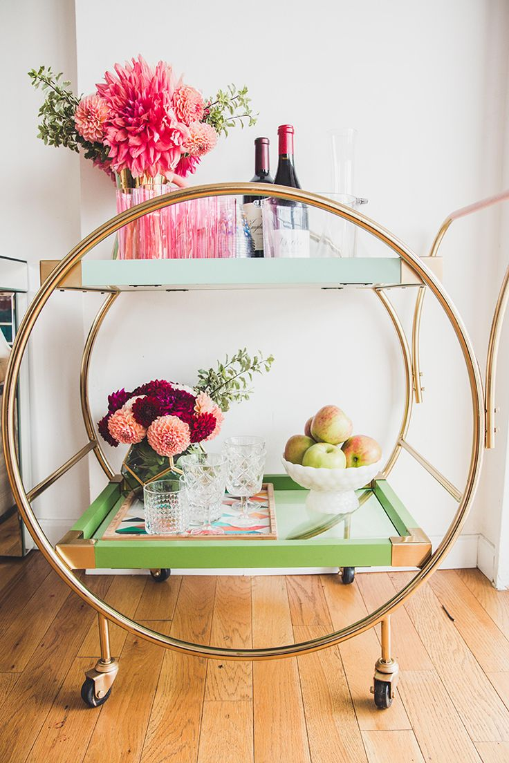 Oh Joy For Target Bar Cart | Little Miss Party