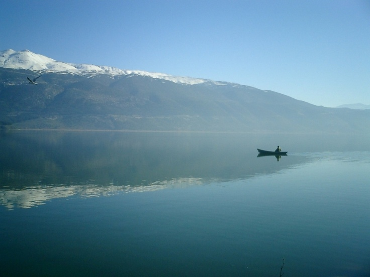 Lake of Ioannina, Greece
