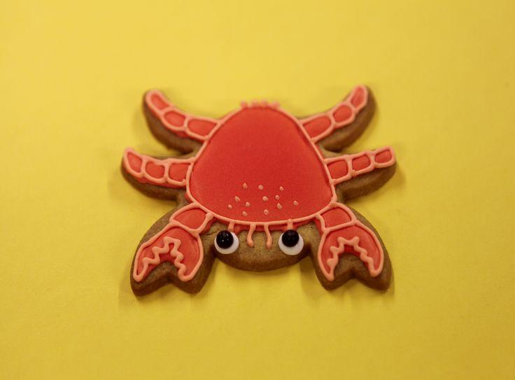 Petit crabe by Pâtisserie Chez Bogato 7 rue Liancourt, Paris 14e. Ouvert du mardi au samedi de 10h à 19h. Tel. 01 40 47 03 51 Cake Design Birhtday cake Gâteau d'anniversaire