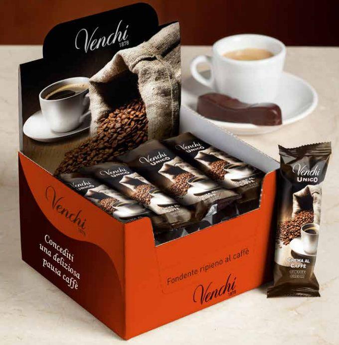 Unico Caffè.... un'irresistibile snack ripieno di crema al caffè