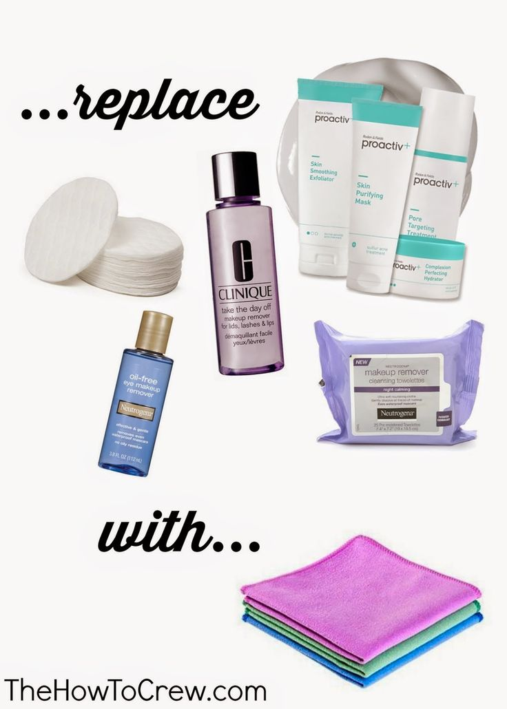 Save money, remove makeup and clean your skin without any harsh chemicals from TheHowToCrew.com! #beauty #makeup