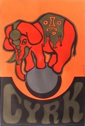 Circus poster, Poland