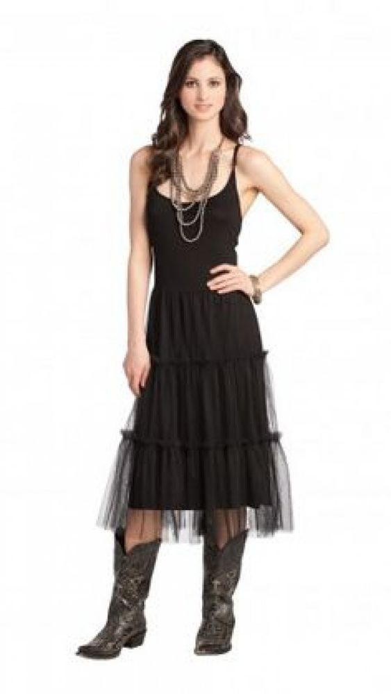 Western Tulle Dress Black Size Small Cowgirl Country Spaghetti Strap Dress #ranchoestancia #sundress #westerndresses #womenswesternwear #womenstulle #womenstulledress #cowgirl #cowgirldresses #ranchlife #rodeolife #cowgirloutfits #westernclothing #cowgirlstyle #cowgirllifestyle #summerdresses #summerdressesforwomen