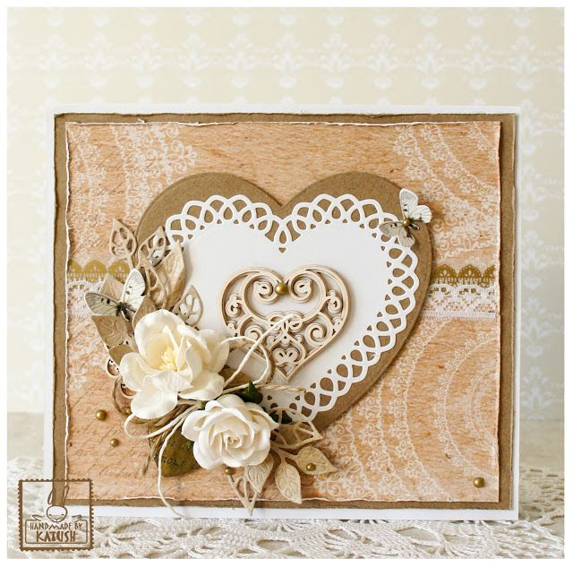 Handmade by Katush: Valentine's Card