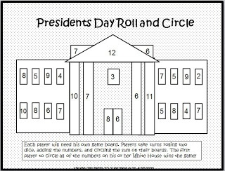 Classroom Freebies: Math Fun for Presidents Day