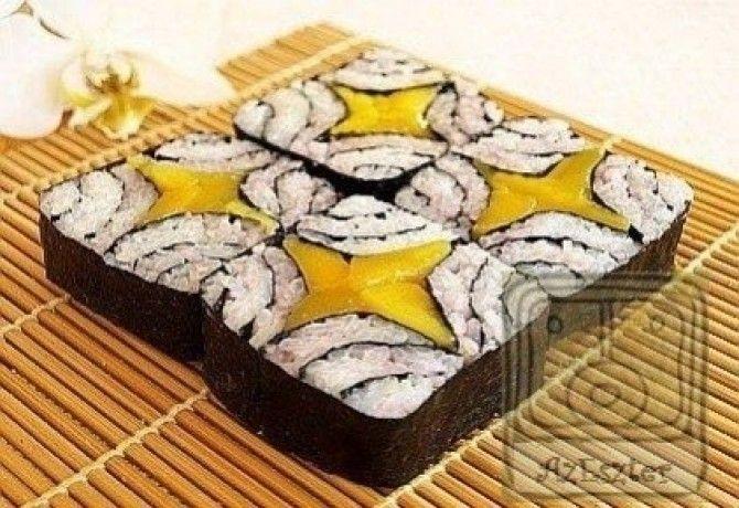 Négytenger tekercs - sushi profiknak recept képpel. Hozzávalók és az elkészítés részletes leírása. A négytenger tekercs - sushi profiknak elkészítési ideje: 10 perc