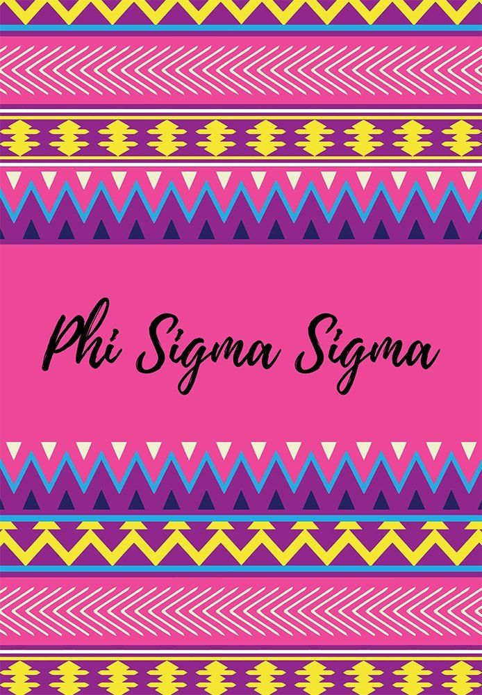Phi Sigma Sigma sorority 12 inch x 20 inch flag - Pink and purple Aztec - Room decor - Garden flag - Gift for mom or alumna. My flags are designed by me so you will find these designs no where else ! Decorate your dorm, sorority house or yard with this small, colorful flag. At 12 x 20 inches, these are what is considered a Garden flag size. -Indoor / Outdoor flag. 100% Polyester Mesh flag. 12 inches by 20 inches. -Printed on BOTH SIDES. -Pocket at the top for hanging on a garden flag pole...