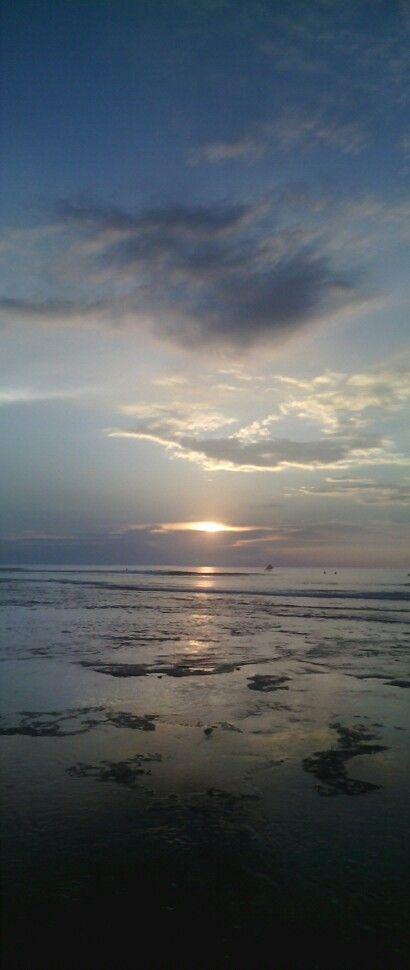 Balangan beach sunset moment