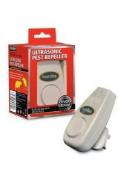 £7.99 - Pest-Stop Ultrasonic 500   This is our entry-level ultrasonic pest repeller, effective against mice and crawling insects. The Pest-Stop 500 uses fluctuating ultrasonic waves to cause auditory stress to pests