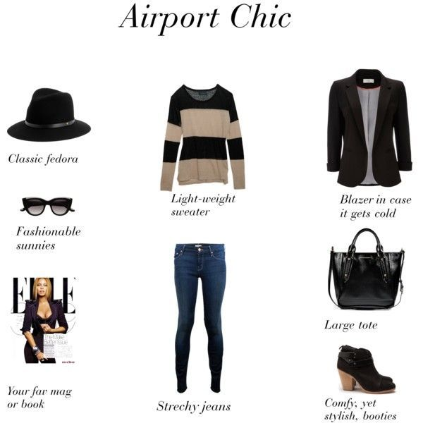 Airport Chic - easy ideas for what to wear when you're jetting off to a #business conference or #business trip