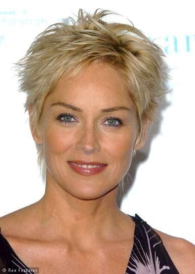 Sharon-Stone---love her hair                                                                                                                          ...