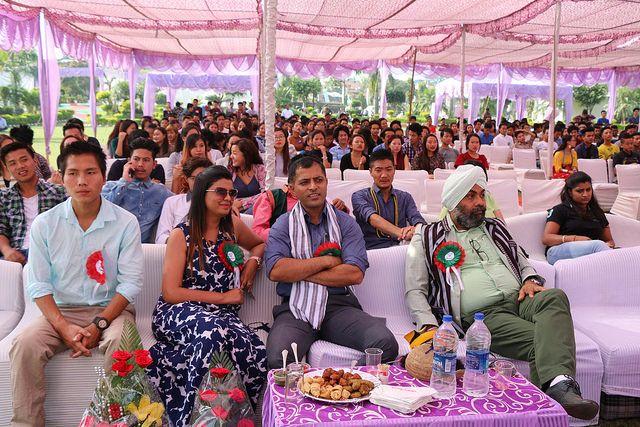 Arunachal Pradesh Feshers Meet organized by Tula's Institute Best Engineering College in Dehradun where students get an opportunity to show their hidden talent.