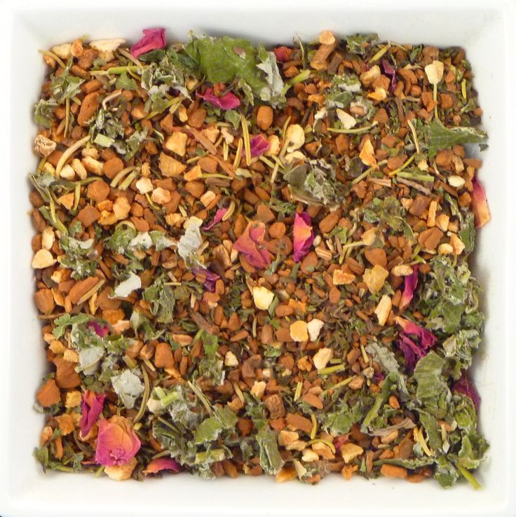 PMS Tea If you find you have some discomfort, irritability, and bloating this tea is for you. With specific ingredients it will help you go with the flow throughout your time of the month.