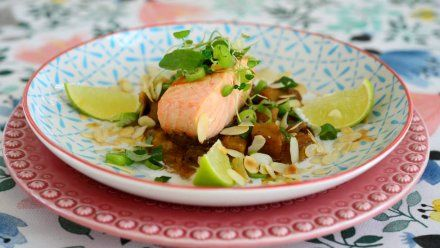 Resepti: Munakoiso-currylohta