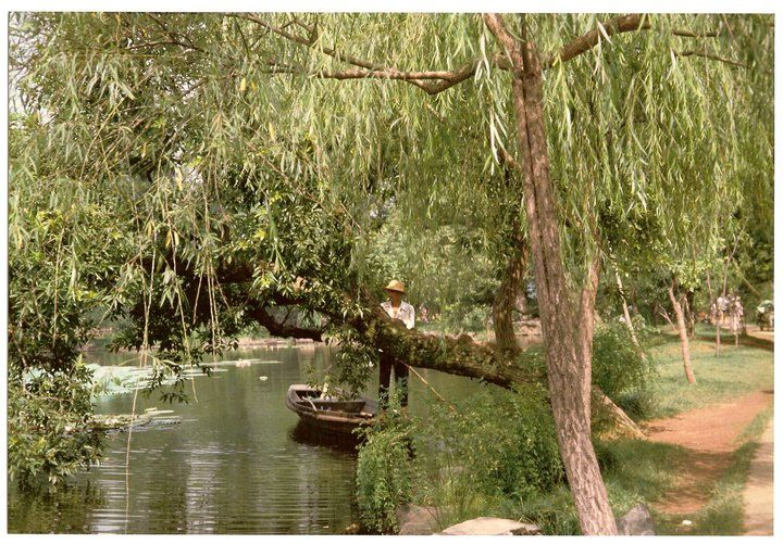 Cina 1992, Hang Chow, raccolta della spazzatura