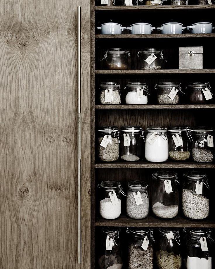 17 beste idee n over voorraadpotten op pinterest keuken potten potten en krijt labels - Deco keuken chique platteland ...