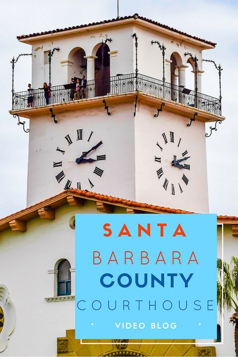 The Santa Barbara County Courthouse is Spanish Colonial style architecture and is one of the most famous tourist attractions in Santa Barbara. via @NiceRightNow