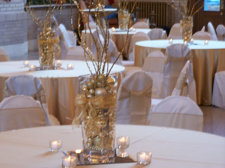 Decorate Square Vase With Gold Ribbon